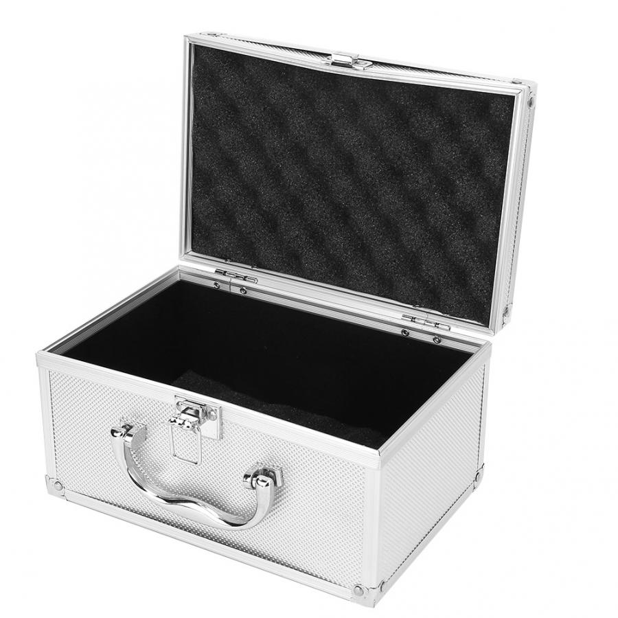 Instrumentation-Box Tool-Box Display-Case Aluminum-Alloy Portable 230--150--125mm
