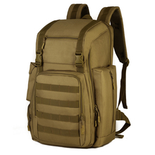 New 40L Laptop Backpack  High Quality Waterproof Nylon Military Traveling Rucksack Bags Free Shipping