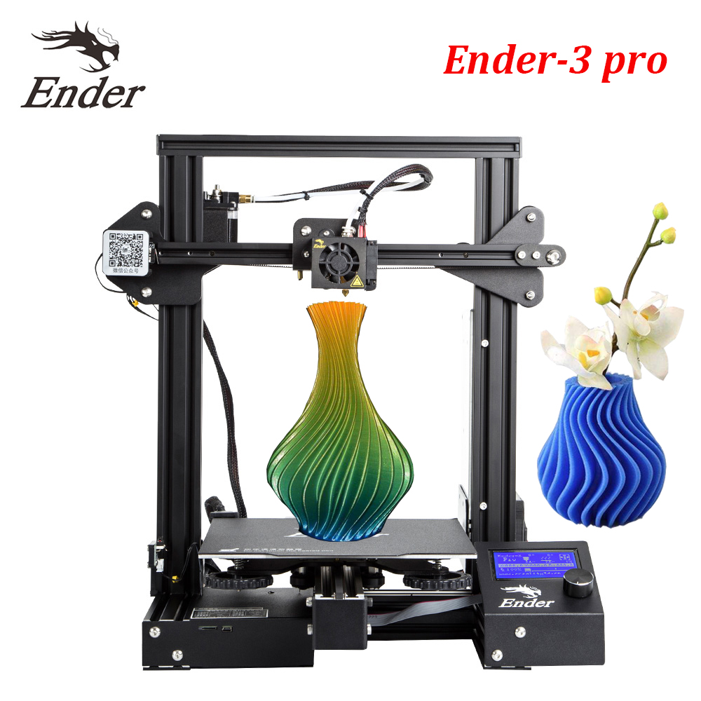 CREALITY 3D Ender 3 PRO 3D Printer Upgraded Magnet Build Plate Resume Power Failure Printing DIY