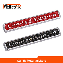 3D Metal Limited Edition Auto Car Sticker Badge Decal Motorcycle Stickers Chrome Emblem for Suzuki Honda Kawasaki HARLEY YAMAHA