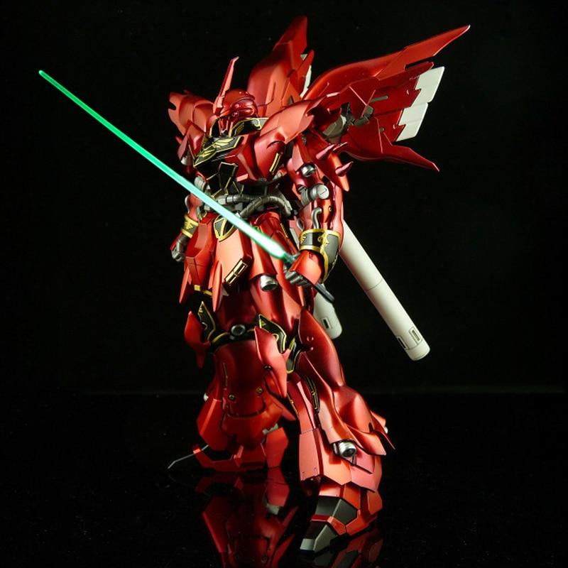 цена Green Light For Bandai Gundam Model Kit MG 1/100 Metal green Saber Set Can Fix 1/6 Action Figure Free shipping онлайн в 2017 году
