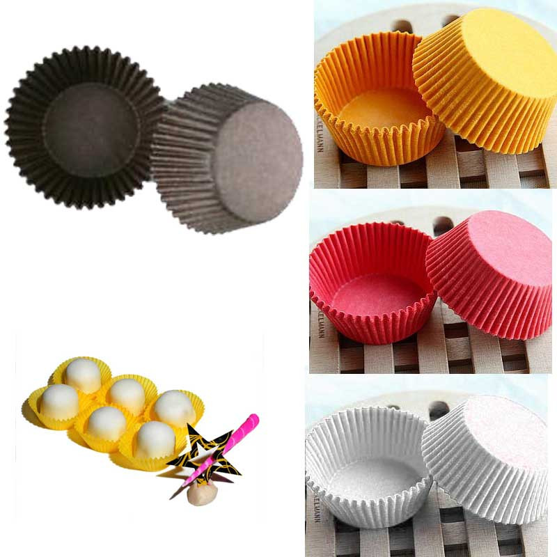 480 UNIDS Paper Cup Cake Cocina Cupcake Liners Baking Copa Muffin Casos fe24 Lev