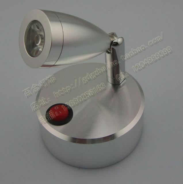 NUEVA pila Seca pequeños focos luces de pared led pequeña batería de la lámpara de la lámpara lámpara de luz escaparate lámpara de escritorio inalámbrico