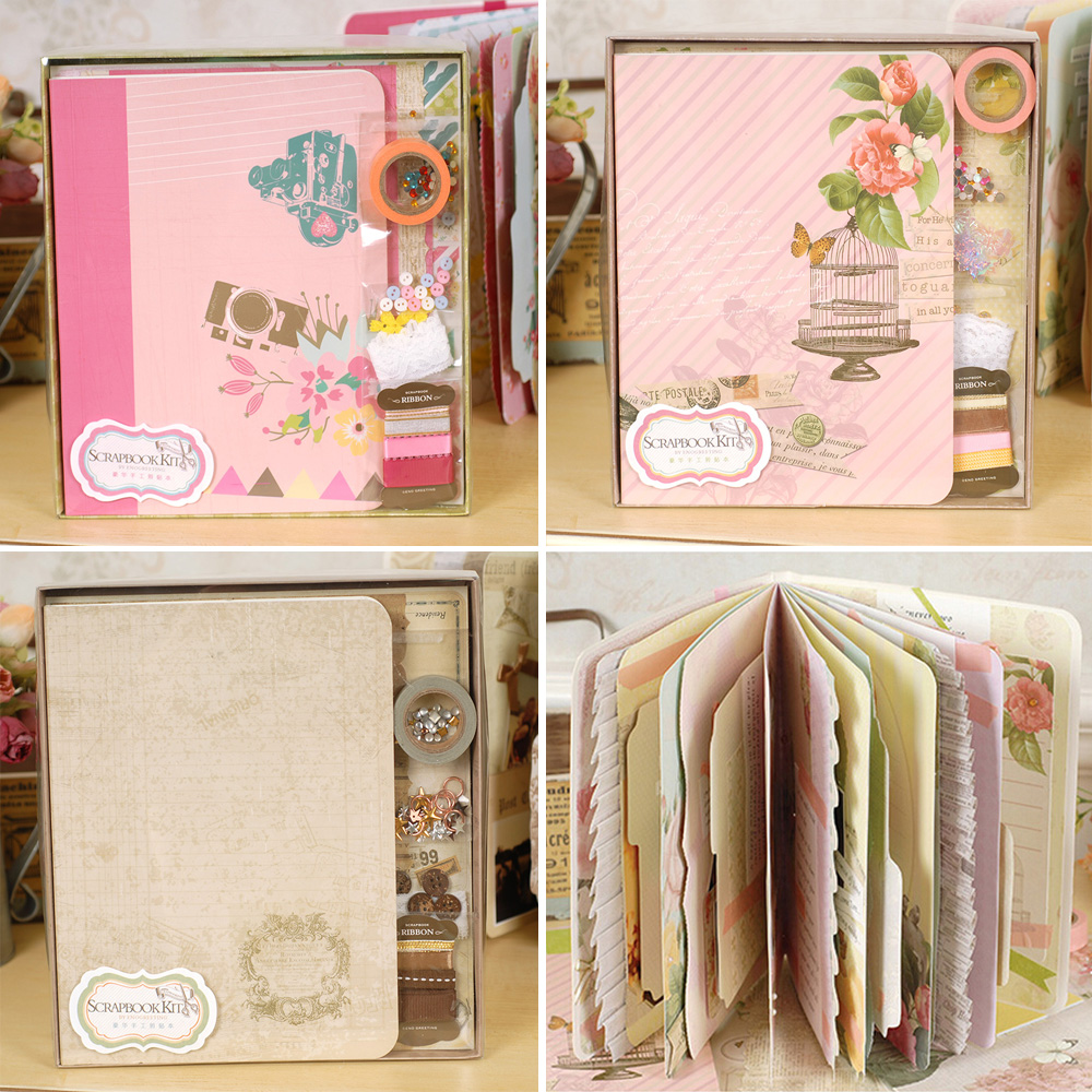 Online Cheap Complete Scrapbook Kit