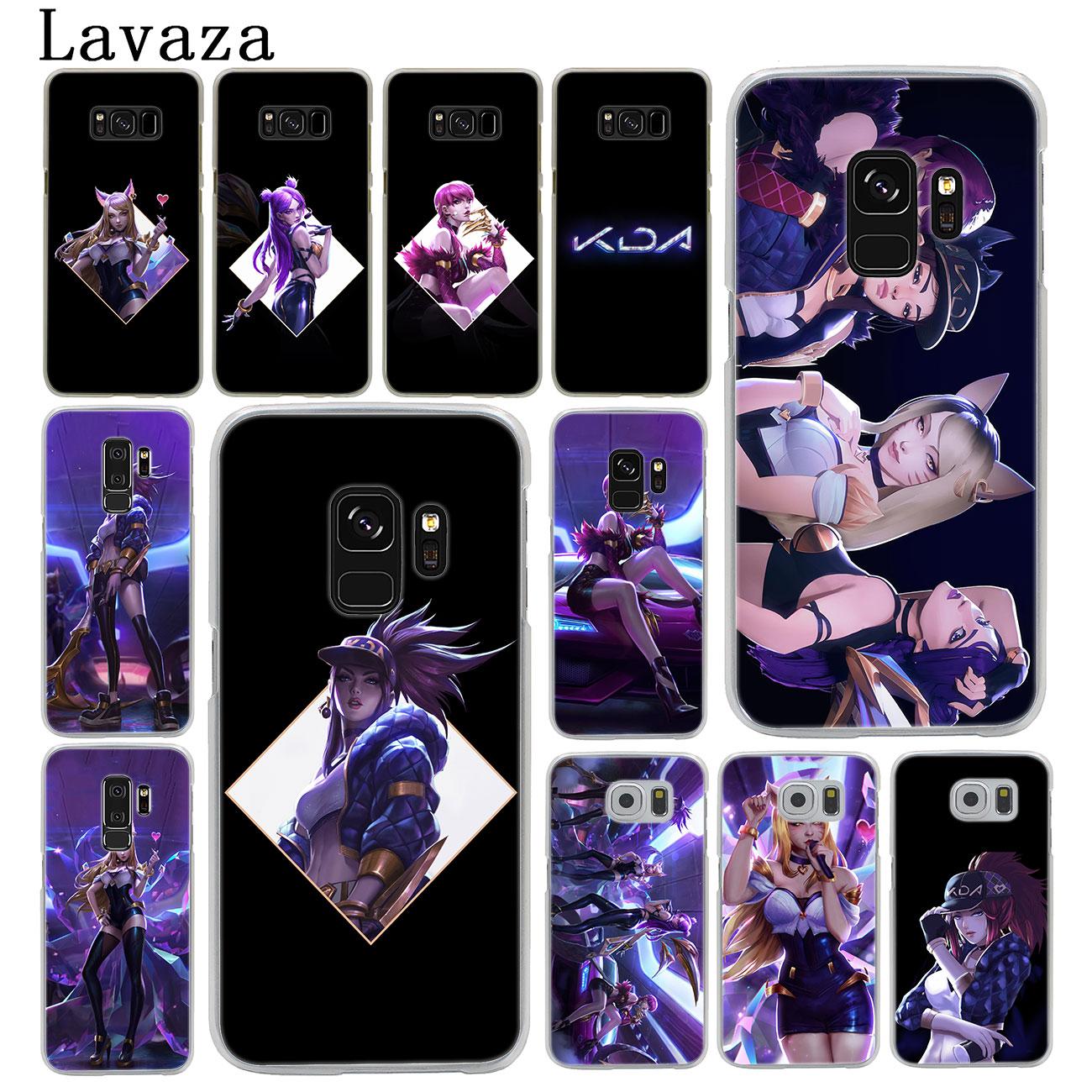 Phone-Case Back-Cover Akali Lol Ahri Legends Kda Evelynn League Samsung Galaxy S10E S9 Plus