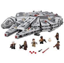 LEPIN Star Wars Millennium Falcon Figure super heroes font b Toys b font building blocks set