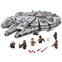 LEPIN Star Wars Millennium Falcon Figure super heroes Toys building blocks set marvel