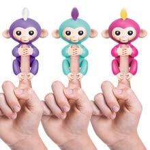 WowWee Genuine License Fingerlings Monkey Finger Baby Monkey  Interactive Baby Pet Intelligent Toy Tip Monkey Finger Monkey джинсы blue monkey blue monkey mp002xw0ixm6