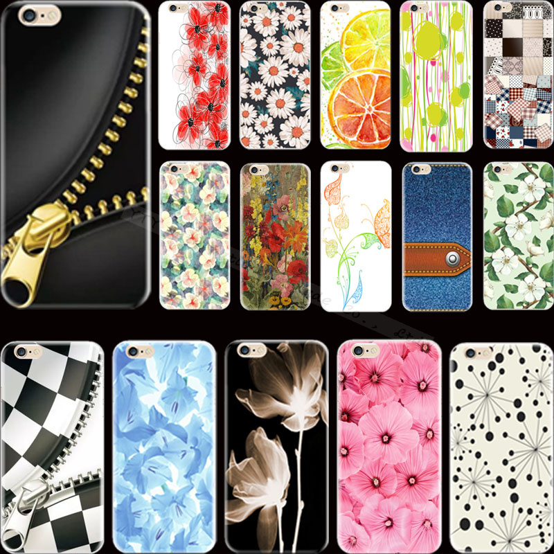 Painting Cowboy Square Flowers Silicon Phone Cases For Apple iPhone 5 iPhone 5S iPhone5S Case Cover Shell XCT QUD JDY YSTQ