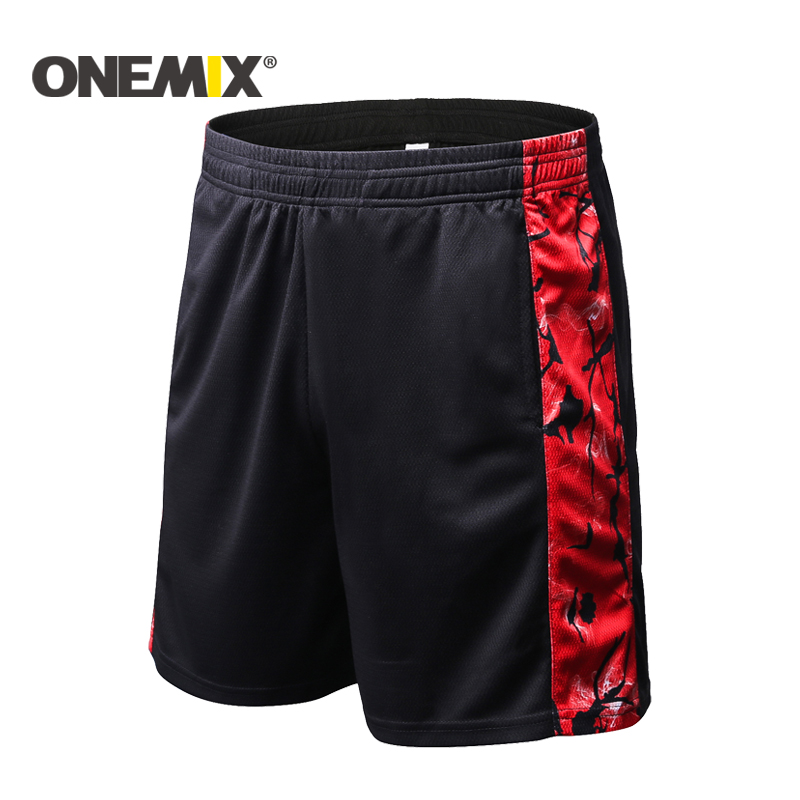 ONEMIX Sports Shorts Men Gym Shorts Men Football Trousers Jogging Pants Quickly Dry Running Shorts Comprehensive training Shorts