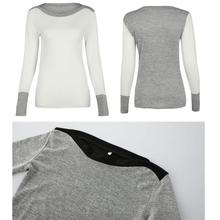 Women's O Neck Long Sleeve Jumper Sweaters