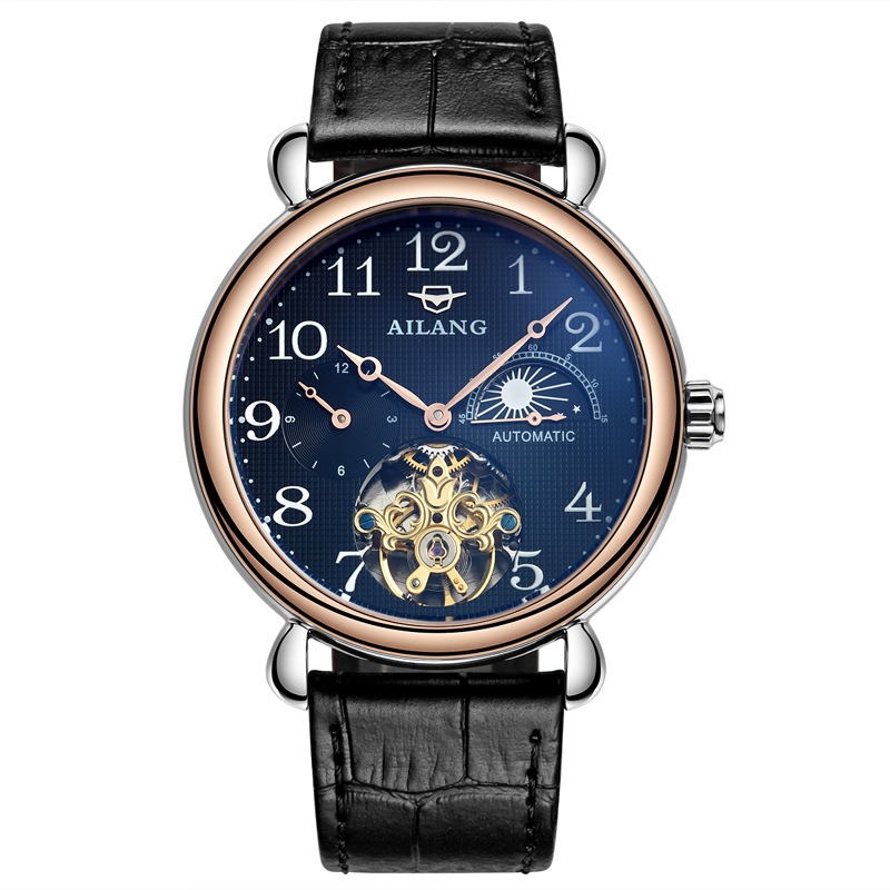 Top Brand Luxury AILANG Skeleton Tourbillon Watch Men Clock Automatic Mechanical Male Business Wrist Watch Relogio Masculino winner top brand luxury men s wrist watch men military sport clock male skeleton automatic mechanical watches relogio masculino