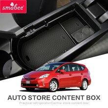 Smabee автомобиль центральный подлокотник коробка для Toyota PRIUS 30 2012-2015 PRIUS30 xw30 zvw30 zvw35 монет отделение для хранения перчаток лоток коробка для хранения