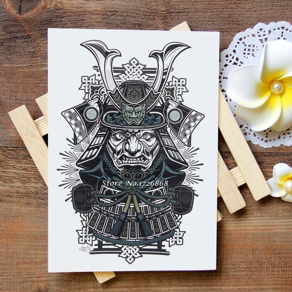 popular samurai tattoo buy cheap samurai tattoo lots from. Black Bedroom Furniture Sets. Home Design Ideas