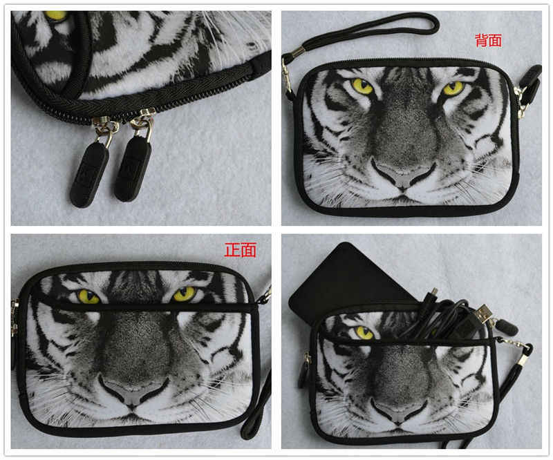 """Hond 2.5 """"Externe USB Hard Drive Disk Carry Mini Usb-kabel Case Cover Pouch Oortelefoon Tas"""