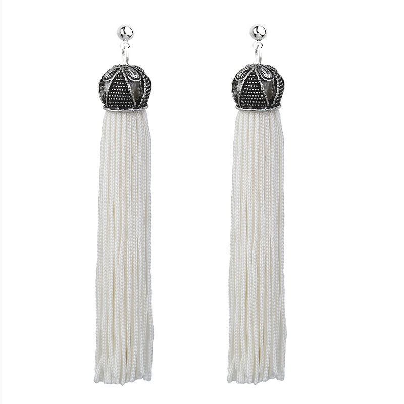 indian jewelry Boho Drop Dangle Fringe long Earring Vintage ethnic Statement Tassel earrings fashion jewelry earrings for women