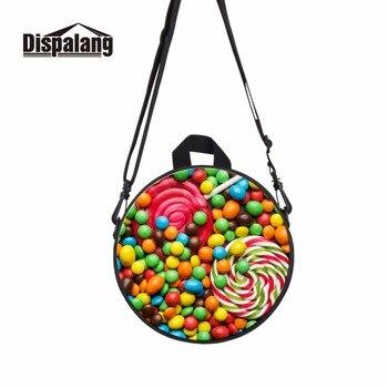 Dispalang 9 pulgadas encantadora pequeña bolsa redonda para niños ...