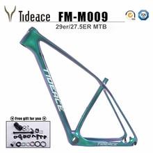 Tideace UD Хамелеон 29er карбоновая рама Китайский mtb карбоновая рама 27,5 карбоновая горная велосипедная Рама 650B диск карбоновая рама 29