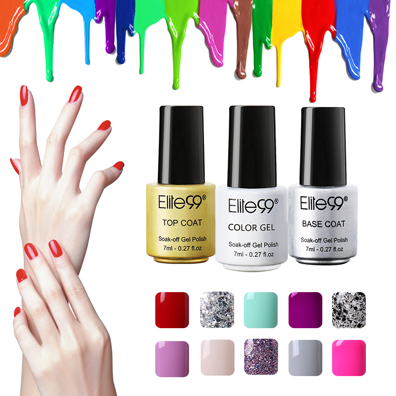 Elite99 7ml Gel Nail Polish Professional Salon UV