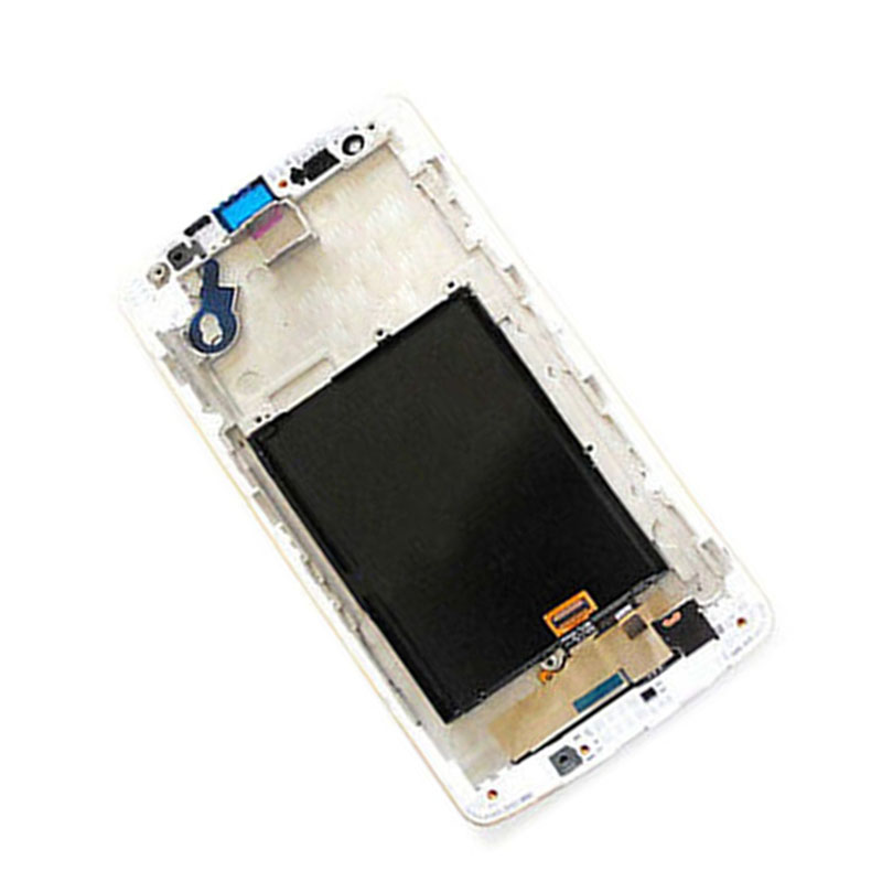 White For LG G3 Mini G3s D722 D724 D725 D728 Touch Screen Digitizer Glass + LCD Display Panel Monitor Assembly with Frame Bezel
