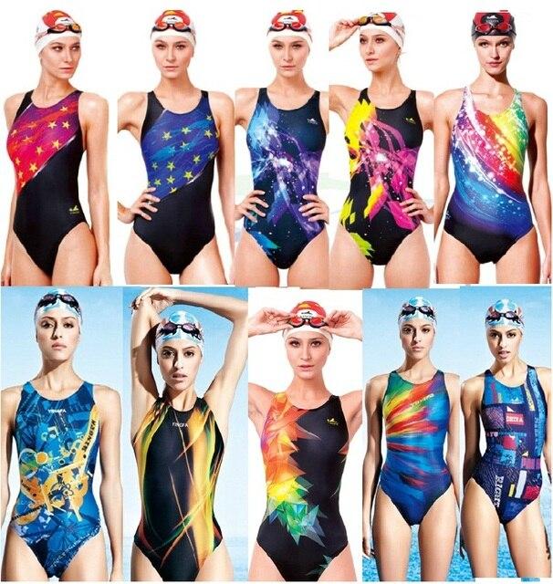 76fe79ee030b € 17.95 34% de DESCUENTO|Aliexpress.com: Comprar YINGFA traje de baño de  una pieza para mujer traje de baño profesional para mujer traje de baño ...