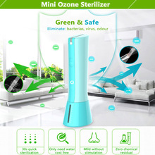 Small ozone water treatment products deodorizer vegetable disinfectant greenhouse disinfection ozone generator for car spay