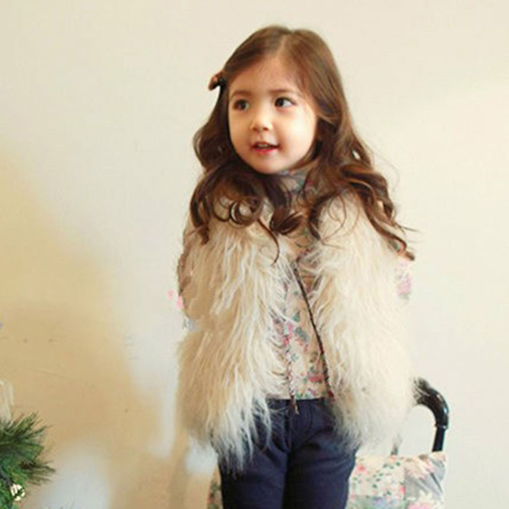 2016 Yeni Moda Çocuk Giyim Kız Yelek Tasarımcı Çocuklar Yelek - Çocuk Giyim - Fotoğraf 4
