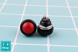 Image 4 - 6Pcs PBS 33b 2Pin Mini Switch 12mm 12V 1A Waterproof momentary Push button Switch since the reset Non locking