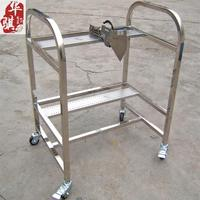Feeder Trolley for Yv100 Yg100 Yg200 Yg12 Cl YAMAHA Chip Mounter Feeder Racks Storage Cart 40*2PCS 2 Layers