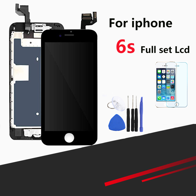quality LCD for iPhone 6s LCD Screen Touch Screen Digitizer Assembly Full Replacement Module with Home Button and Camera image