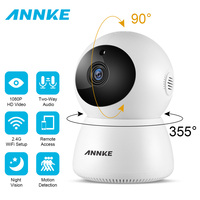 ANNKE NEW 1080P FHD IP Wireless Video Security Camera Two Way Audio Baby Monitor Day Night Monitoring WIFI Surveillance CCTV Cam