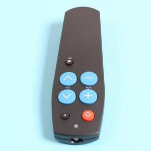 Image 5 - เรียนรู้รีโมทคอนโทรลสำหรับTV DVD ReceiverลำโพงทีวีVCR DVB , HIFI Audio Video Player,universal Controllerด้วยปุ่ม7ปุ่ม