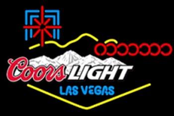 Coors Light Las Vegas Neon Light Sign Beer Bar