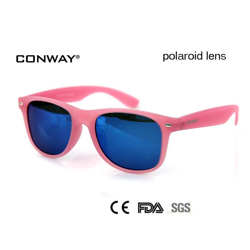 ec3f6c5f1bf3e CONWAY Marca de Luxo óculos de Sol Para As Mulheres Polarizada óculos de Proteção  Uv400 Óculos de Sol Para As Mulheres