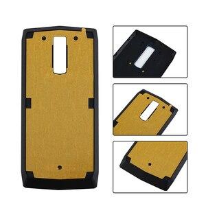 Image 2 - Alesser Voor Blackview P10000 Pro Batterij Cover Met Uitstralende Film Ultra Slim Beschermende Voor Blackview P10000 Pro Bateria Cover
