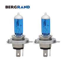 Motorcycle Headlight HS1 Lamp 35/35W 5000K Halogen Light Xenon 12V Hard Glass PX43t Replacement bulb For Yamaha 2PCS