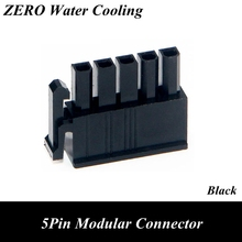 100pcs/lot 5Pin Modular Power Supply Connector for Be Quiet