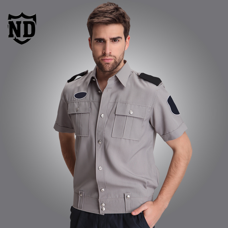 Buy S 3xl Security Uniform Shirts Male