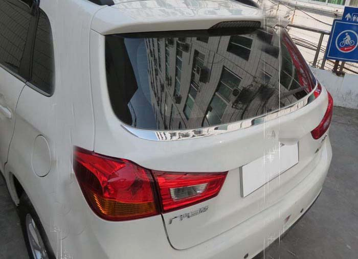 цена на Stainless rear window side cover trim fit for Mitsubishi Asx RVR Outland Sport