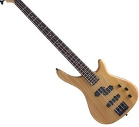 Wood color 4 string electric bass, bass electric guitar, free shipping, can be customized