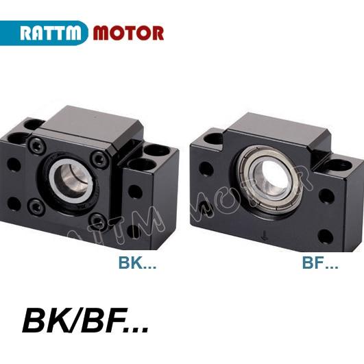 DE nave SFU1605 Ballscrew-L300mm/500mm/600mm/800mm/1050mm extremo mecanizado BK/BF12 y BK/BF12 apoyo y tuerca DE vivienda para el Router CNC - 3