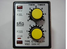 Shanghai Fu Wei CTDV-N4 cyclical time relay AC220V