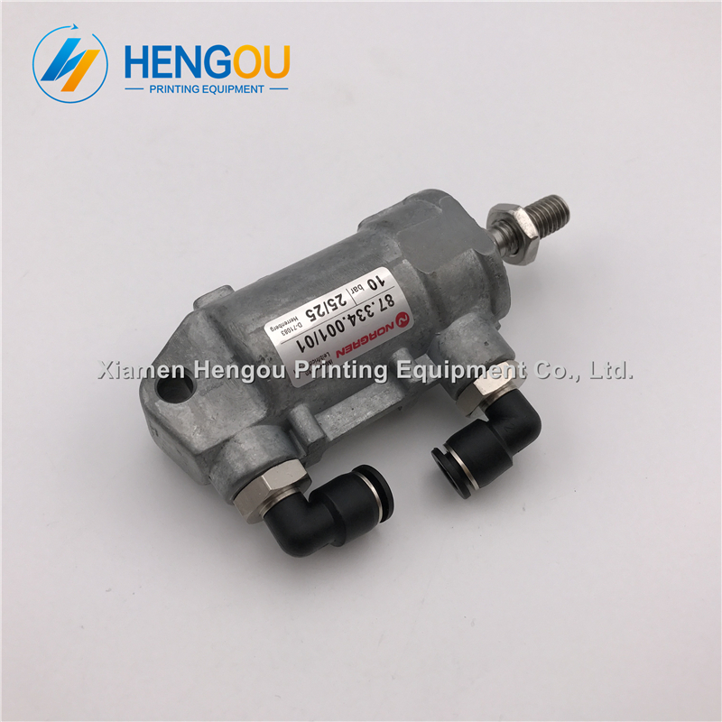 2 pieces China post free shipping 25/25 heidelberg ink air cylinder 87.334.001/01 printing spare parts air cylinder 87.334.001 20 pieces free shipping heidelberg printing machine spare parts feeder wheel size 60 8mm