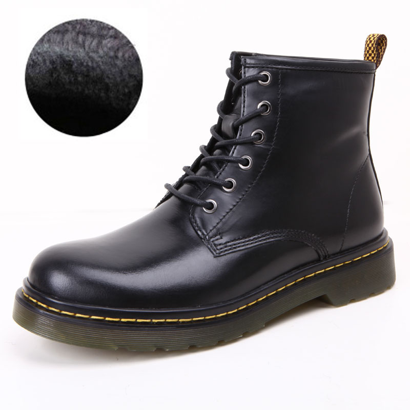 leather shoes Martin male Dr1460-1 low leather shoes leather casual shoes men and women boots Martens