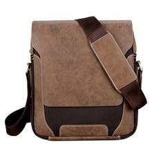 1459793d82fce فيكونيا بولو تعزيز الرجال حقيبة ساعي جلدية الأعمال Crossbody حقيبة عادية ل  رجل عالية الجودة أكسفورد السفر حقائب كتف