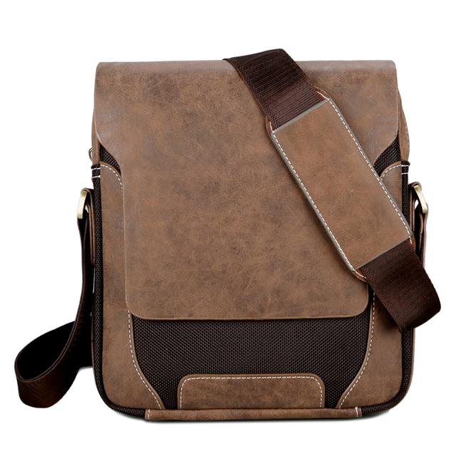 Vintage Men's Business Crossbody Bag