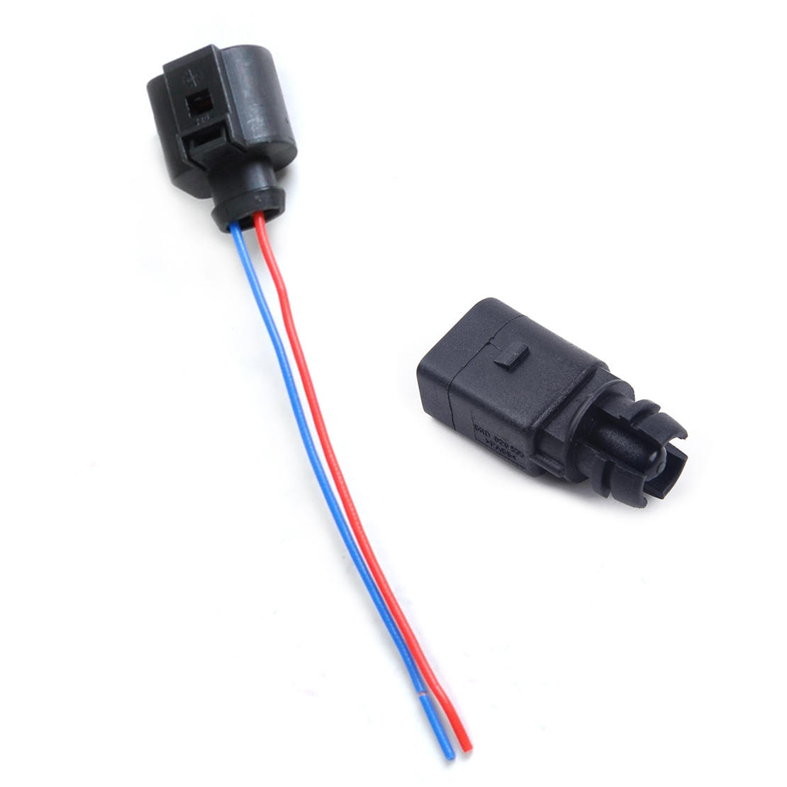 hight resolution of citall new ambient air temperature sensor electrical 2 pin connector plug wiring harness fit for audi vw 6rd820535 1j0973702