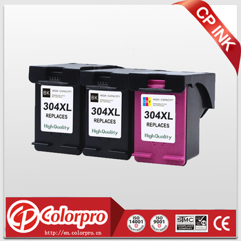 CP 304 Replacement for HP304 304XL Ink Cartridge for HP Deskjet 3720 3721 3723 3724 3730 3732 3758 Printer (2BK/1C)