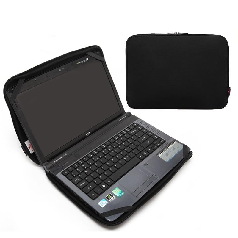 "Free shipping 10""12""13""15""17"" Inch laptop bag neoprene notebook case Zipper computer Notebook"