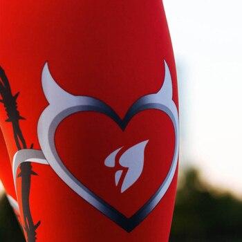 Sexy Heart Print Legging 4